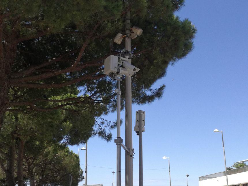 Le radar piéton est composé de cinq caméras