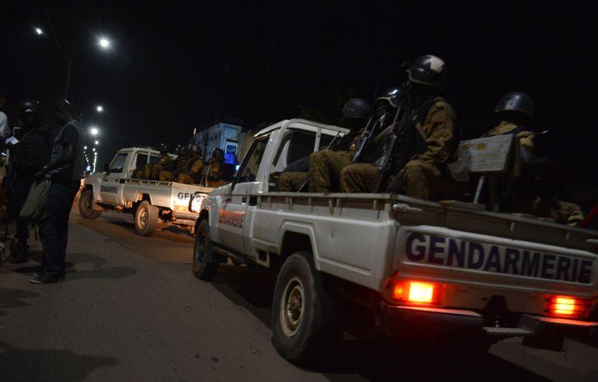 Assaut lancé par la gendarmerie du Burkina-Fasso après l'attaque terroriste de Ouagadougou