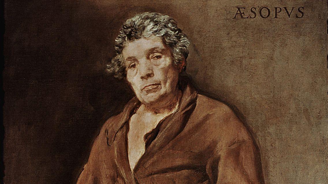 Portrait d'Ésope par Velasquez