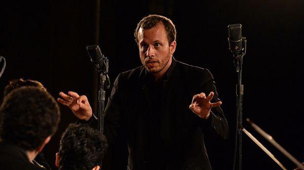 Mathieu Romano, fondateur de l'Ensemble Aedes, aux Rencontres Musicales de Vézelay