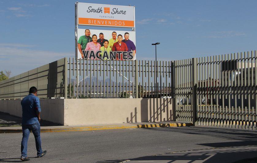 A la frontière américano-mexicaine, une maquiladora, un des symboles de l'Alena : une usine située au Mexique, qui bénéficie d'avantages fiscaux et d'une main-d'œuvre bon marché.