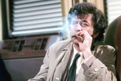 Peter Falk, alias Inspecteur Colombo, dans la série diffusée sur NBC en 1973