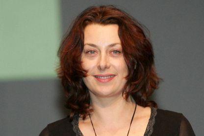 La dessinatrice Catel en 2008 au Festival d'Angoulême