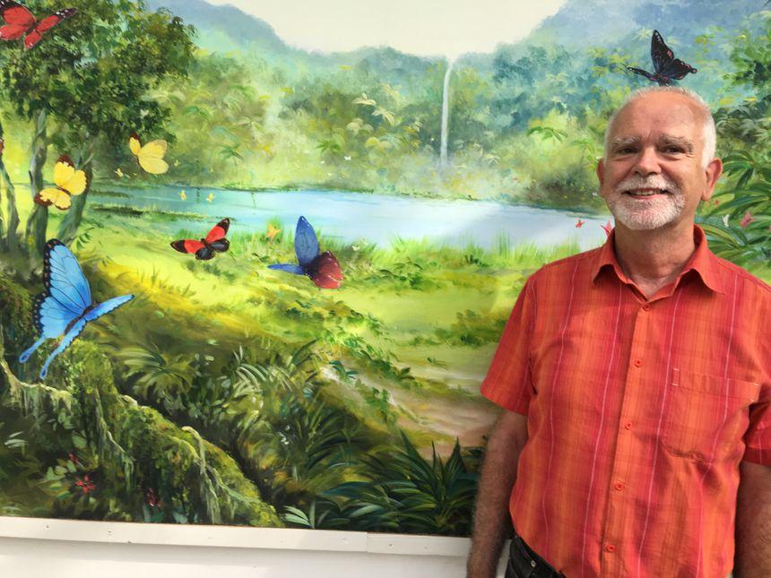 Martin Bueche, le créateur du Jardin des papillons