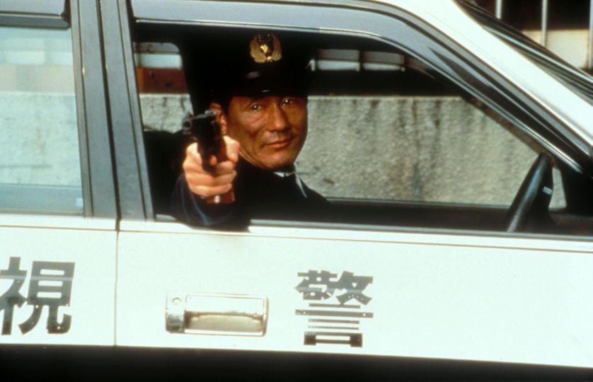 """Takeshi Kitano dans """"Hana-Bi"""""""