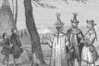 Costumes iakoutes ou yakoutes de Sibérie (Russie)