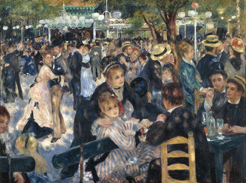 """Pierre-Auguste Renoir, """"Le Moulin de la Galette"""", 1876"""