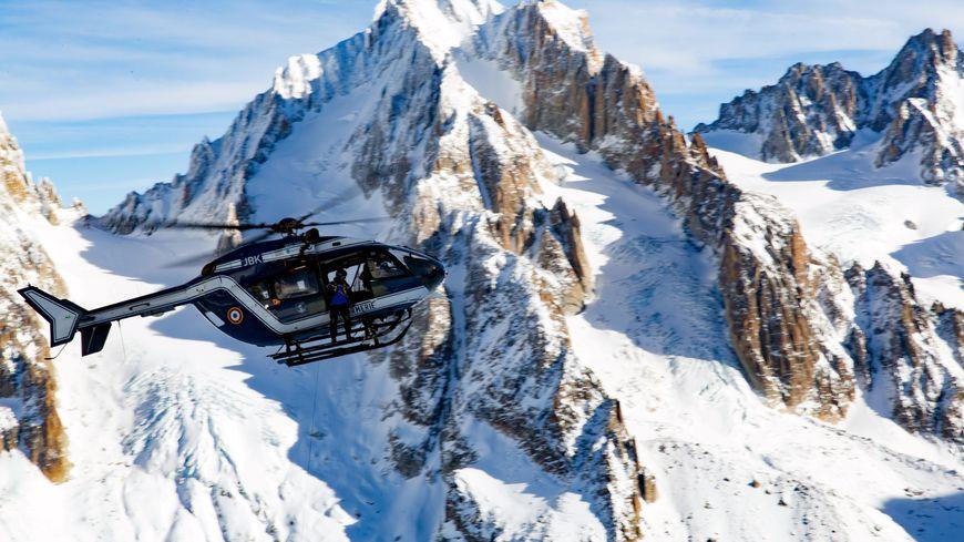 Les enfants ont été redescendus dans la vallée par hélicoptère (illustration)