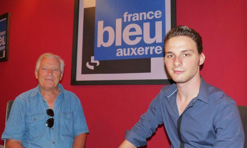 Jean-Claude Coulonge et Alexandre Lucet,  47 ans les séparent, Elvis Presley les réunît.