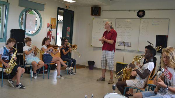 Le jazz, une école du vivre-ensemble ? Bienvenue au collège de Marciac !