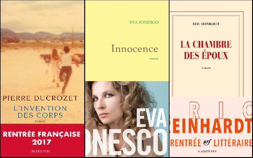 L'invention des corps (P. Ducroze), Innocence (E. Ionesco), La chambre des époux (E. Reinhardt)