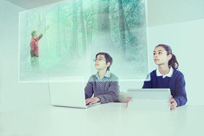 Salle de classe du futur