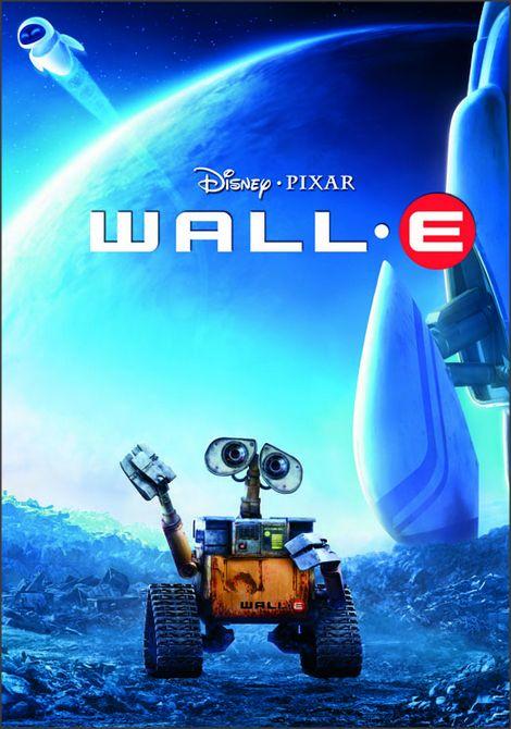 """Affiche du film d'animation """"Wall-e"""" des studios Disney Pixar"""