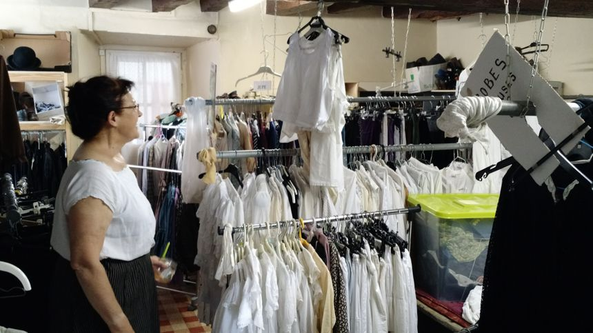 Plus de 1500 pièces de costumes sont utilisées pendant le spectacle...