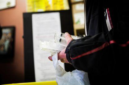 Pause Diabolo, un centre de réduction des risques pour les toxicomanes, à Lyon, en France.