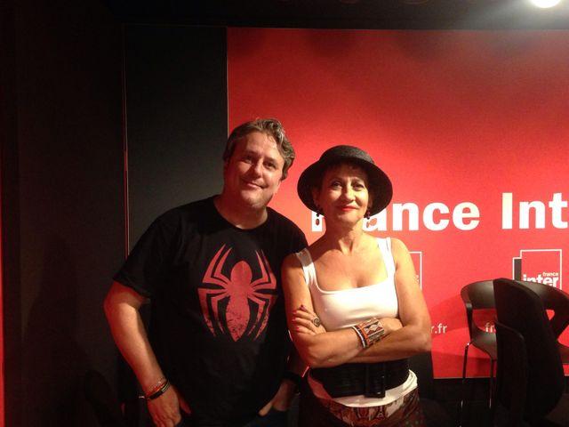 Mathias Deguelle et Caroline Loëb