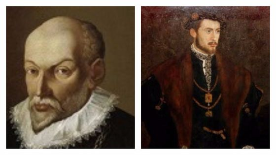 Roland de Lassus / (International Museum and Library of Music of Bologna) et Albert V de Bavière peint par Hans Mielich (1545)