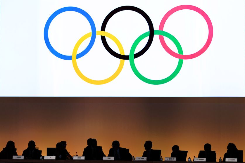 130e session extraordinaire pour le vote simultané des villes candidates pour les JO 2024 et 2028,  SwissTech Auditorium, Lausanne, Suisse, 11 juillet 2017