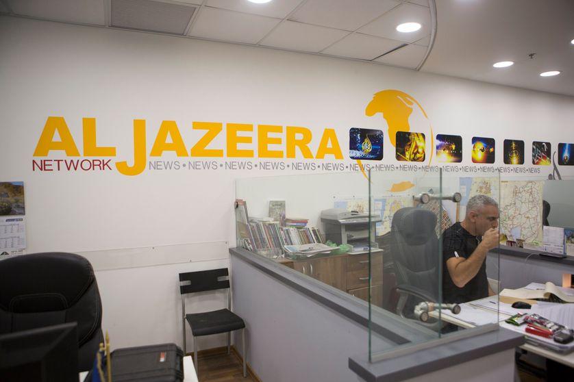 Le bureau d'Al Jazeera à Jérusalem