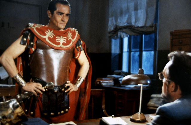 "Vittorio Gassman dans ""Au nom du peuple italien"" de Dino Risi en 1971"