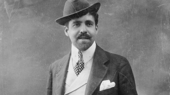 Photographie de Reynaldo Hahn prise en 1906.
