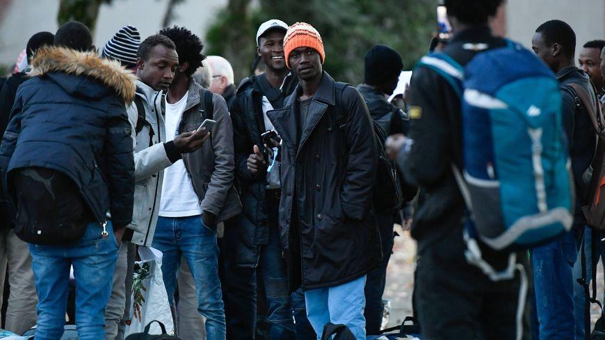 Les migrants et les demandeurs d'asile qui sont à la rue, à Nantes, sont le plus souvent des hommes et des femmes seuls venus de la corne de l'Afrique