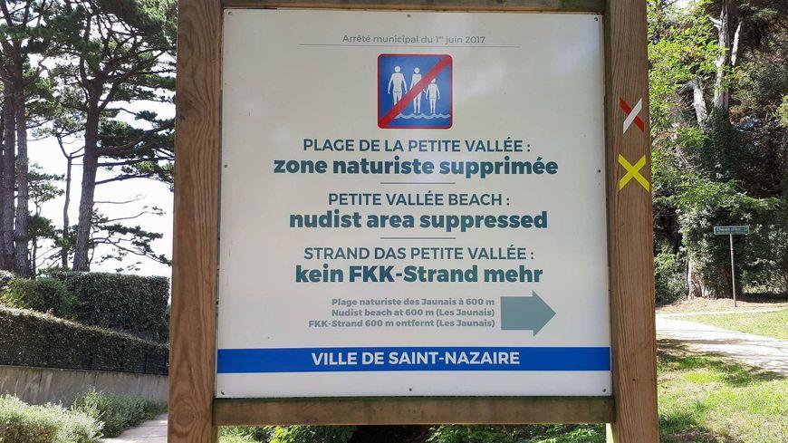 Depuis le 1er juillet la plage de la Petite Vallée à Saint-Marc-sur-Mer n'a plus de zone naturiste