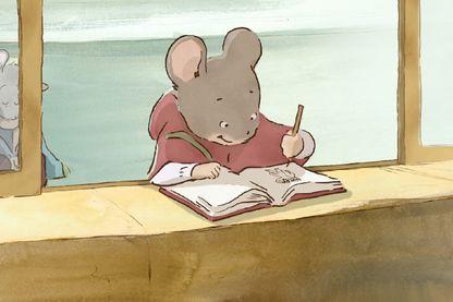 """L'intrépide souris Ernestine dans le dessin animé """"Ernest et Célestine"""" de Benjamin Renner (2012)"""