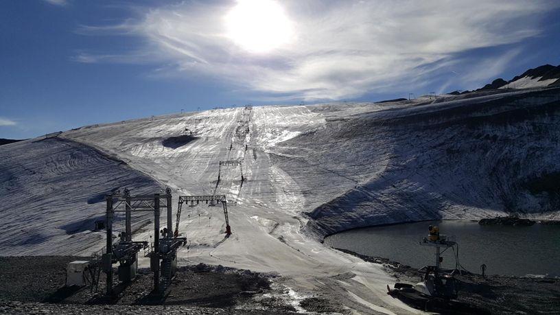 En tout, six canons à neige vont être installés aux 2 Alpes.