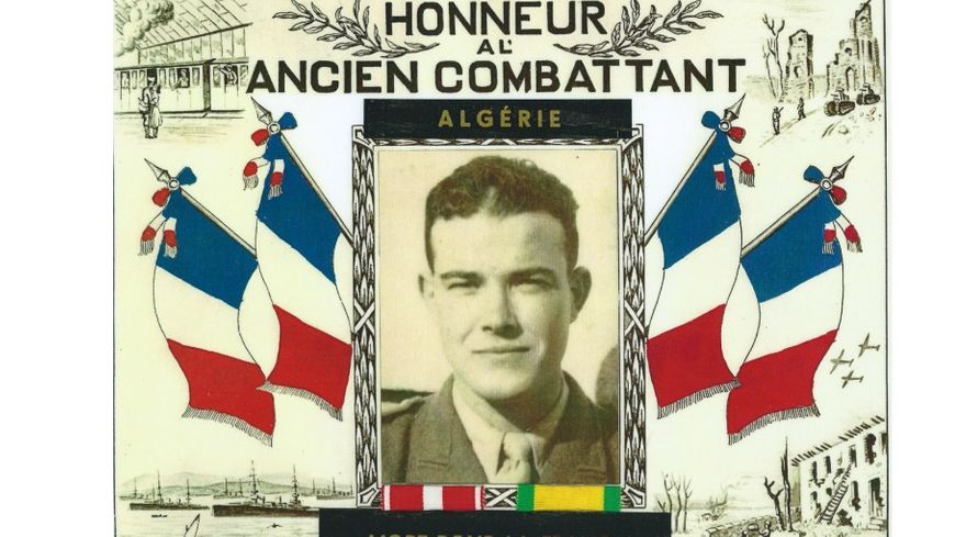 Le Sergent Jean Vilalta Mort pour la France en 1956 en Algérie