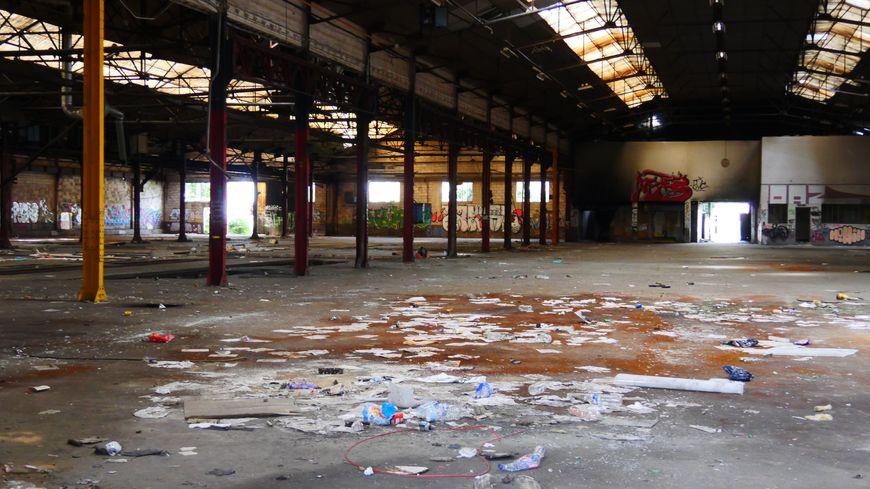 """A """"Stalingrad"""", les espaces sont immenses, et le terrain de jeu presque inépuisable pour les graffeurs"""