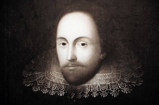 Portrait de William Shakespeare (1564-1616)