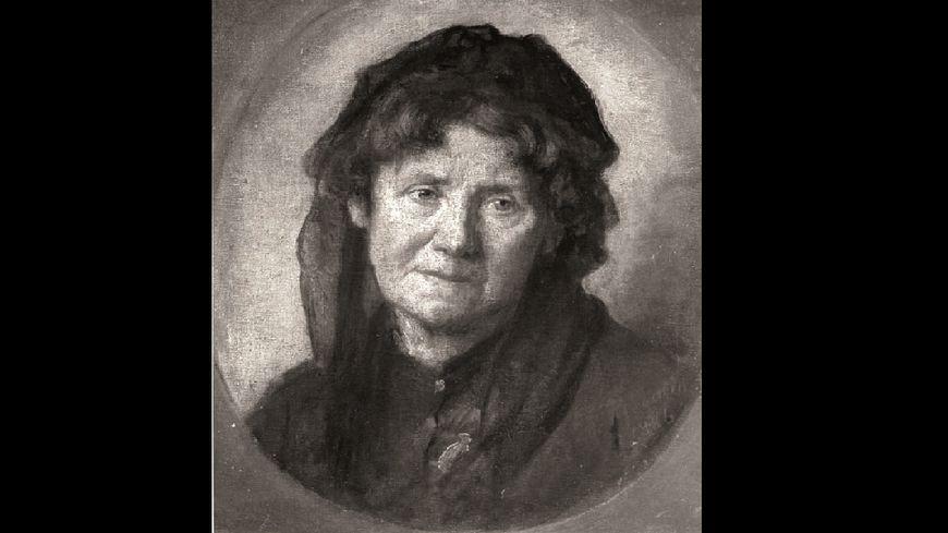 Le portrait de Mme Ackermann peint en 1886 par Marcellin Desboutin
