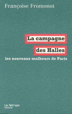 Première de couverture La campagne des Halles
