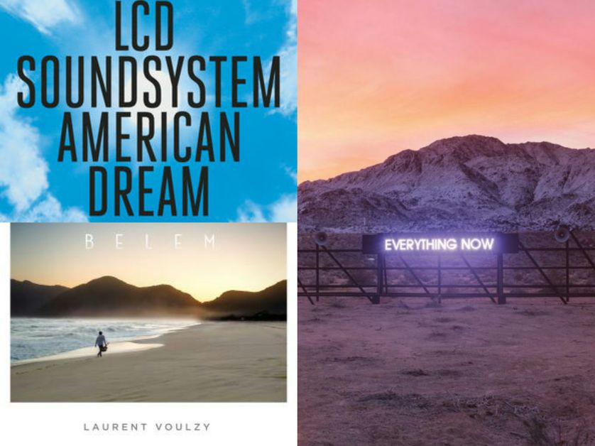 Lcd sound system, Laurent Voulzy, Arcade Fire
