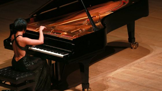 Yuja Wang en concert au Royal Festival Hall
