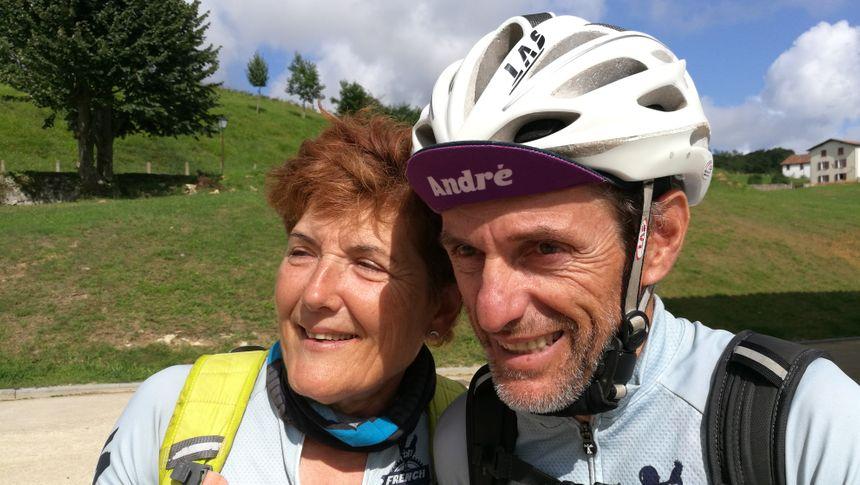 Un couple, Patricia et André Perez, arrivé samedi matin à Mendionde