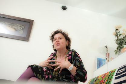 Marie Rose Moro, écrivaine, psychiatre, psychanalyste, et chef de service de la Maison des adolescents de Cochin (Maison de Solenn) à Paris