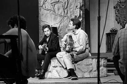 Bob Dylan et Johnny Cash, en duo le 1er mai 1969