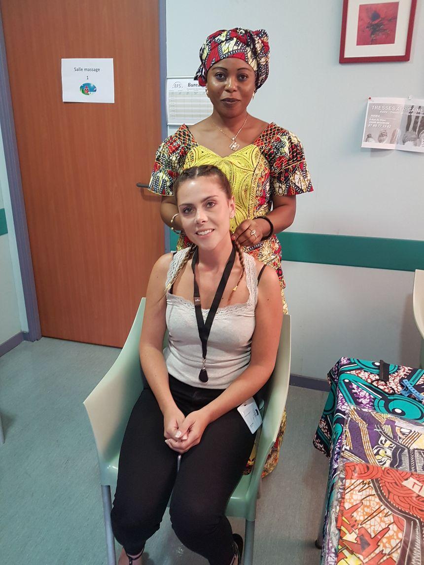 Les donneuses de sang peuvent ressortir de l'EFS de Besançon avec des tresses africaines.