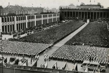 Cérémonie d'ouverture des Jeux Olympiques de Berlin 1936