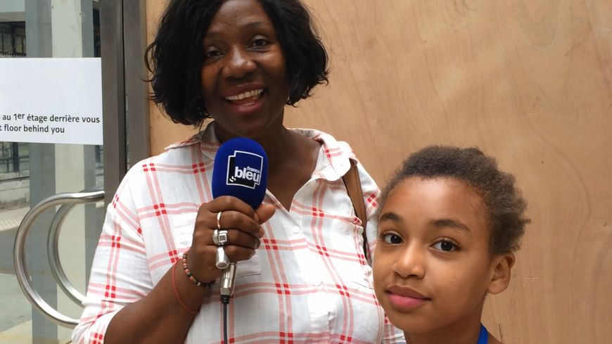 Madame Diop et sa fille Mame Diarra