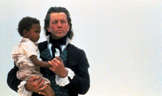 """Bernard Giraudeau dans """"Les Caprices d'un fleuve"""" (1996)"""