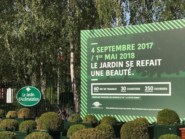 Le Jardin D Acclimatation En Travaux Jusqu Au Mois De Mai Le Parc