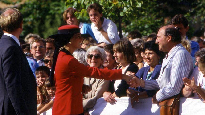 La visite de Lady Diana en Normandie avait enchanté le public.