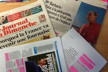 Revue de presse du 13 août 2017 - photo par Olivier Bénis