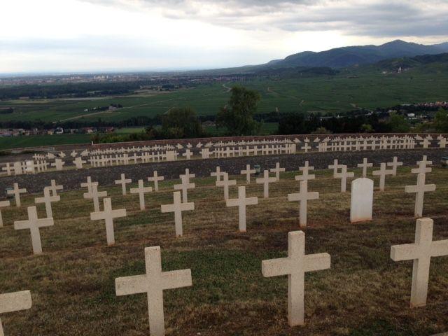 1600 soldats sont enterrés à la nécropole de Sigolsheim