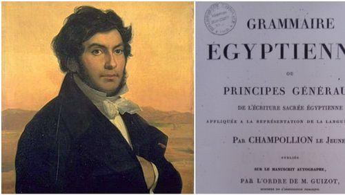 Leçon inaugurale de Jean-François Champollion