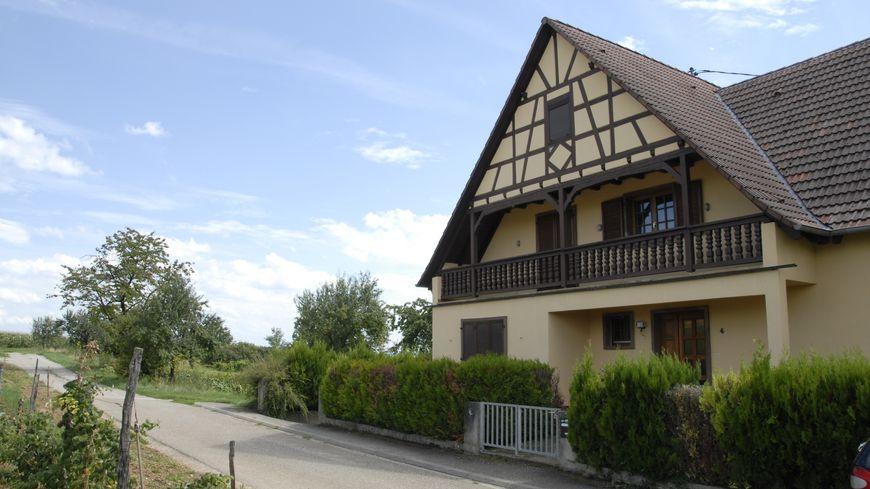 C'est dans un cadre bucolique que Brigitte Macron a vécu cinq ans à Truchtersheim