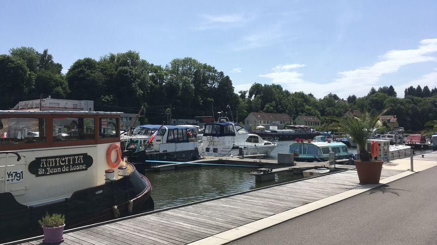 Le port de plaisance de Montbéliard
